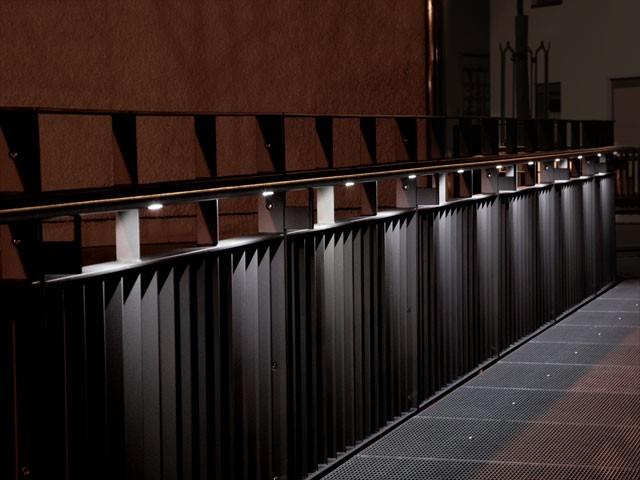 beispiele f r flexo handl ufe mit led beleuchtung im aussenbereich. Black Bedroom Furniture Sets. Home Design Ideas